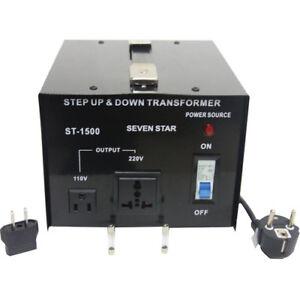 TRANSFORMATOR DE VOLTAGE DE 220 A 110V 110 A 220V 1500W STABILISATOR STROM