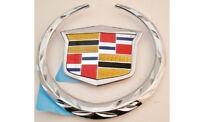 Cadillac Cts Wagon 2010 11 12 2013 Rear Wreath & Crest Emblem