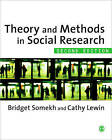Theory and Methods in Social Research by SAGE Publications Ltd (Paperback, 2011)