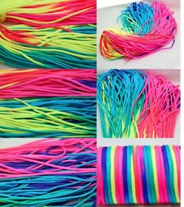 100ft//300ft Rainbow 550 Paracord Rope 7 Strand Parachute Cord Camping Hiking