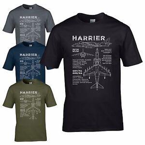 Harrier gr7 7a blueprint t shirt gr9 9a bae av8b aircraft raf 1 image is loading harrier gr7 7a blueprint t shirt gr9 9a malvernweather Gallery