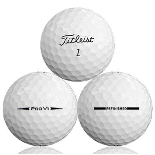 24 - 2 Dozen Titleist Pro V1 2016 Mint Factory Refinished Golf Balls No Logos