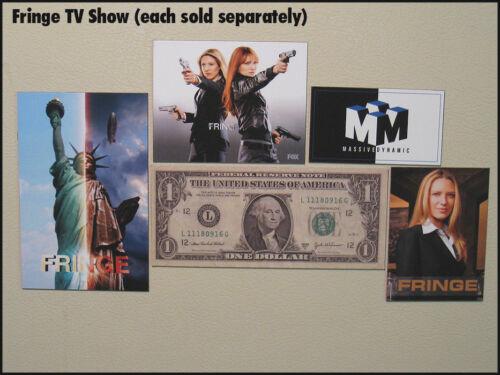 Fridge Fun Refrigerator Magnet FRINGE Massive Dynamic TV Logo A Anna Torv Fox
