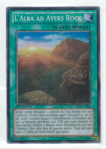 L/' ALBA AD AYERS ROCK Super Rara in Italiano DRLG-IT020 YUGIOH