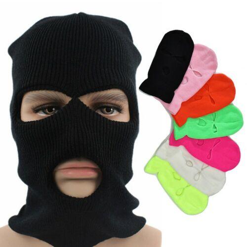 UK-Army Tactical Mask 2//3 Hole Full Face Mask Ski Mask Winter Cap Balaclava Hood