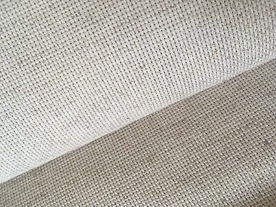 Shell//Platino 14 cuenta Aida Zweigart cross stitch tela varias opciones de tamaño