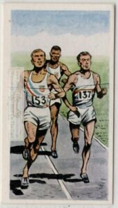 1956-Olympics-800-Meters-Gold-Medal-Courtney-USA-Vintage-Trade-Ad-Card