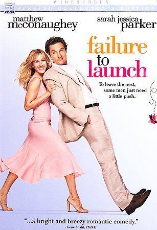 Failure To Launch DVD, 2006, Widescreen  - $3.90