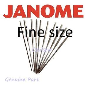 JANOME FM725 FELTING MACHINE XPRESSION EMBELLISHER -  FINE NEEDLES x 10