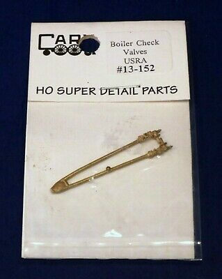 2 // #13-152 HO Scale Super Detail Part Cary Brass USRA Boiler Check Valves