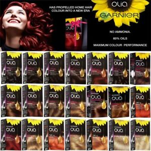 Garnier Olia Permanent Hair Dye Colour No Ammonia Available In 21 New Colours Ebay