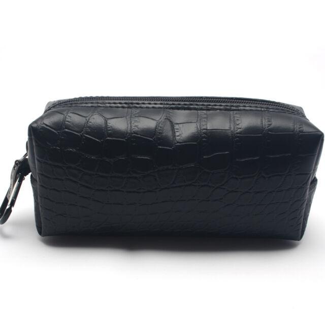 Burnoaa Computer Accessory Mini Pouch MF Padding Organizer Bag Crocodile Black i