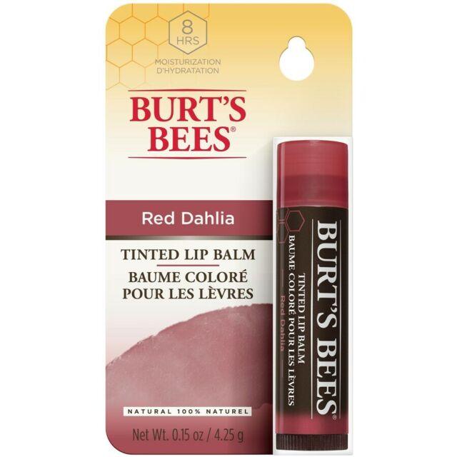 Burt's Bees Tinted Lip Balm - Red Dahlia