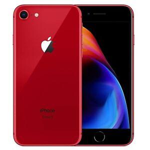 IPHONE-8-Aufbereitet-64GB-Grado-B-Rot-Rot-Original-Apple-Regeneriert