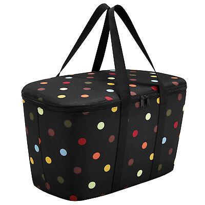 Umorismo Reisenthel ® Di Raffreddamento Borsa Nero Coolerbag Dots Thermo Carrello Per Carrybag-