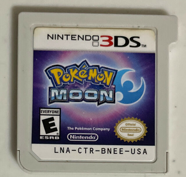 Pokemon Moon - Nintendo 3DS, Cartridge Only Tested