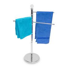 Handtuchständer Handtuchhalter 3 bewegliche Arme Edelstahl Chrom Kleiderständer