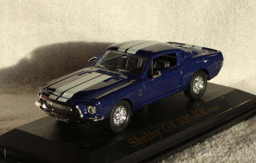 Shelby GT 500 KR blau 1968 1:43 Yat Ming Modellauto