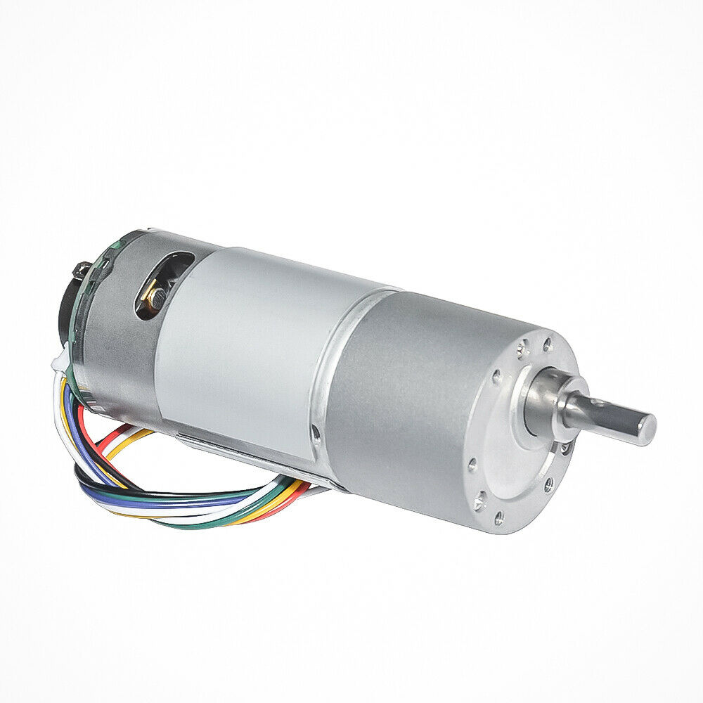 DC6V 2W GBMQ-GM12BY20 Gear Motor With Magnetic Coded Disc Hall Encoder 60RPM 6V