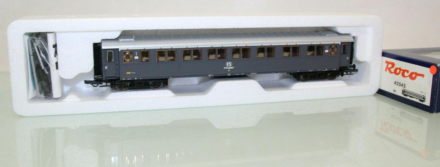 ROCO h0 45545 Italia vagoni 1.kl. la FS M. KKK come nuovo in scatola originale (cl6368)