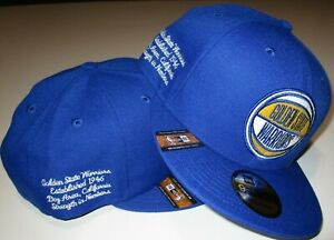 New-Era-9fifty-Golden-State-Warriors-basketball-NBA-draft-edition-snap-back-NWT
