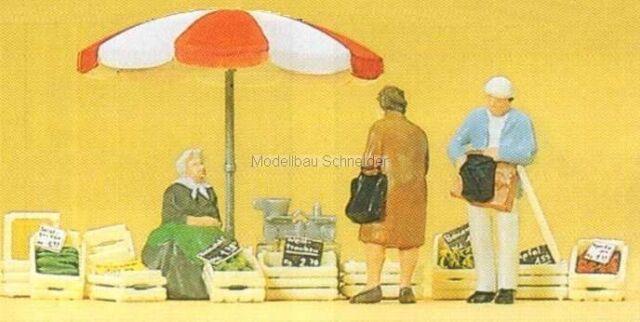 H0 Preiser 10337 Seduti Donna Mercato U.Kunden. Figure