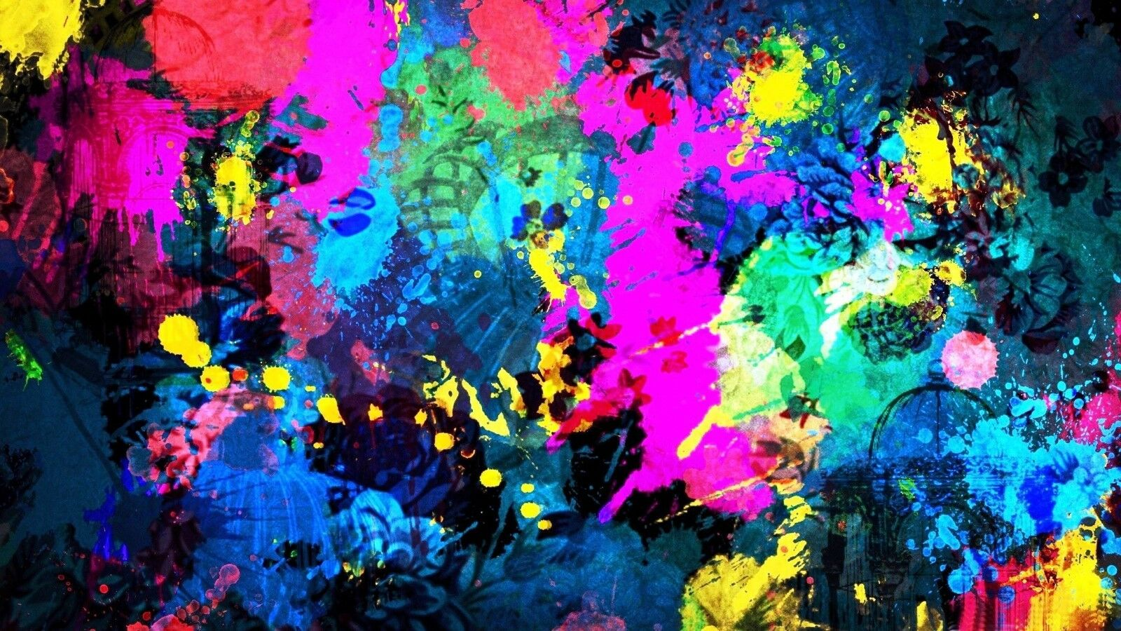 Best Abstract Art Painitng Farbeful High Quality Canvas home wall art & Decor