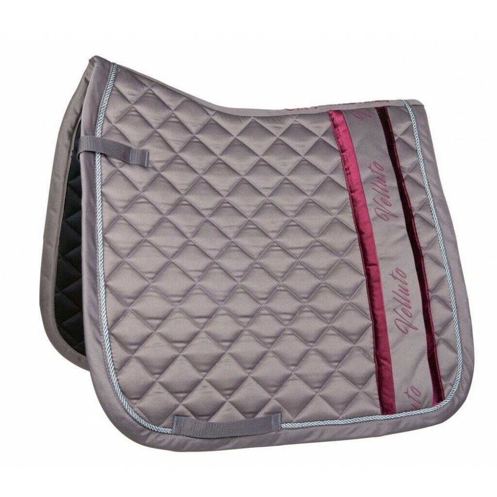 HKM Velluto Gloss Dressage Saddle Pad
