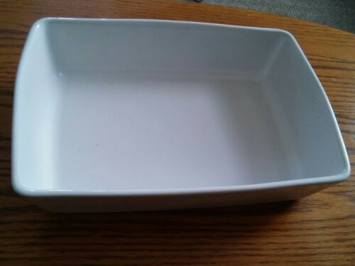 000 Deltis Portugal Made White Stoenware baking Dish Cooking