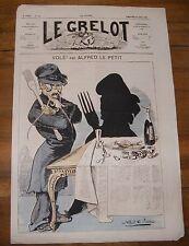 Le Grelot Journal Satirique N°124 Volé ! Par Alfred Le Petit du 24 Août 1873