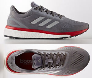 online retailer 249dd 9a9ef Image is loading Adidas-Sonic-Drive-Boost-Response-LT-Grey-Running-