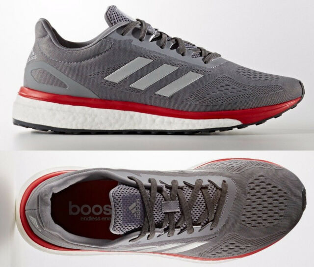Best Selling Adidas Grey Orange Mens Sonic Boost Running