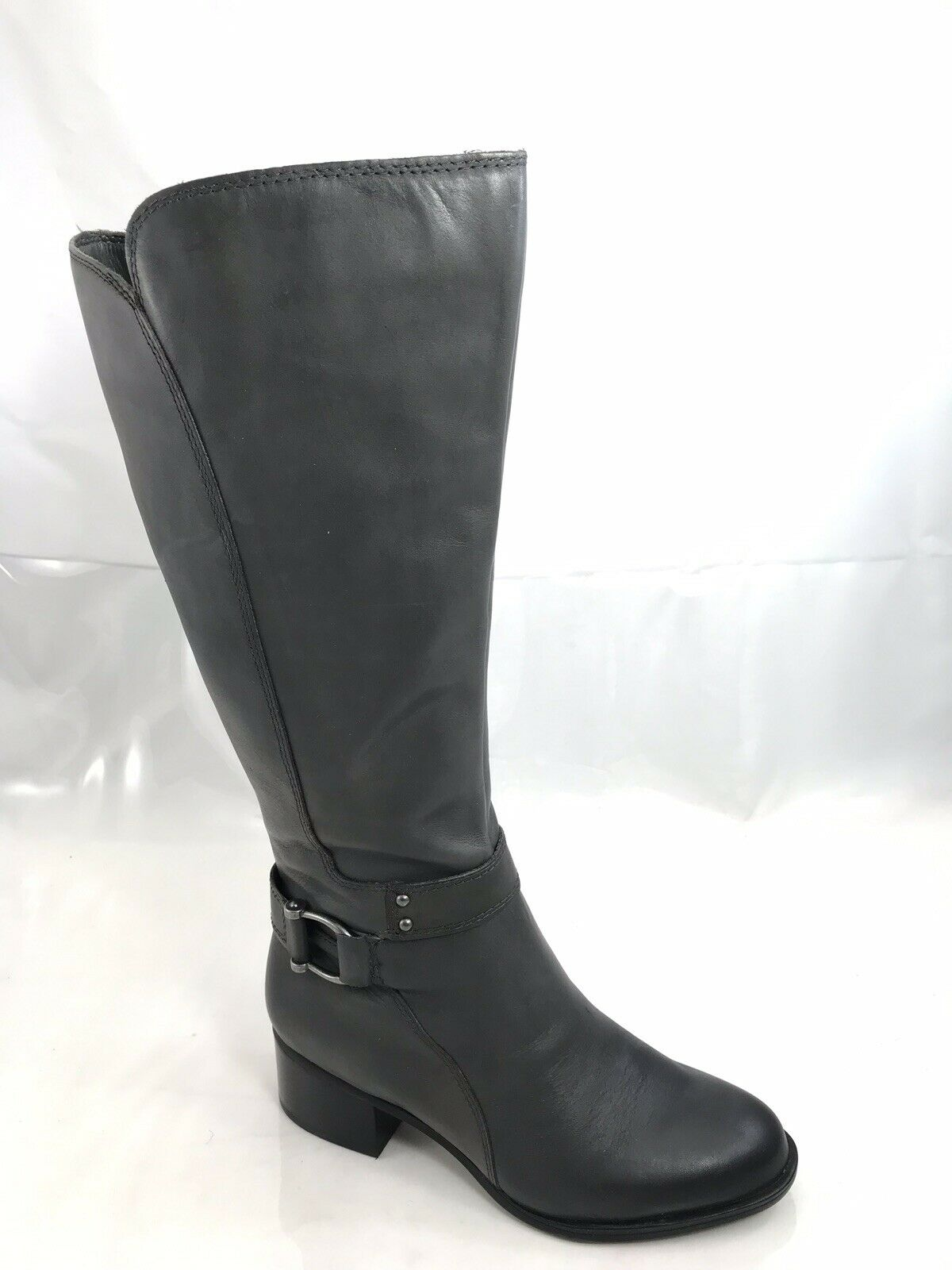 Naturalizer Dane Wide Calf Riding Stiefel damen Größe 5.5 M grau NEW