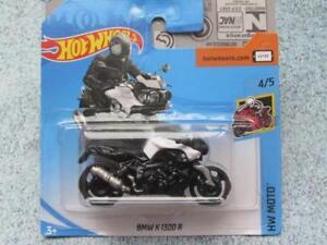 Hot Wheels 2018 356 365 Bmw K 1300 R White Black Bike Hw Moto