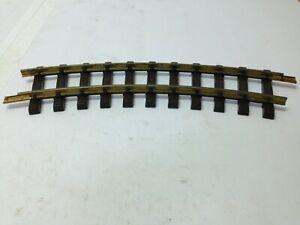 LEHMANN-LGB-G-Scale-Brass-Train-Track-No-1100-Curve-West-Germany