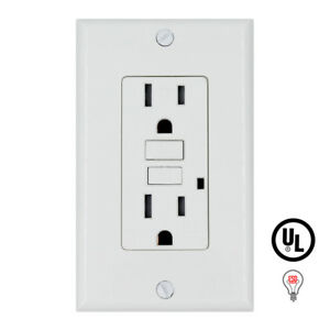 15amp Gfci Gfi Receptacle Outlet Tamper Resistant Ul Listed