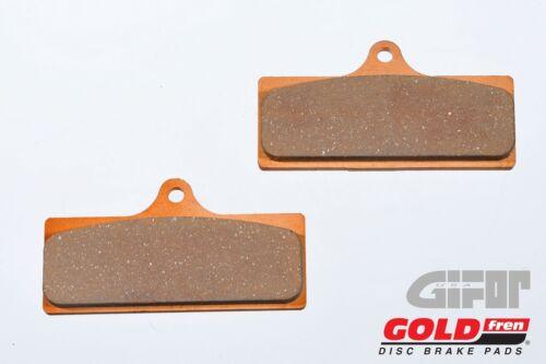 Gold Fren Motorcycle Front Brake Pads 218GP5 AP Racing CP-4488 Radial 4 Piston