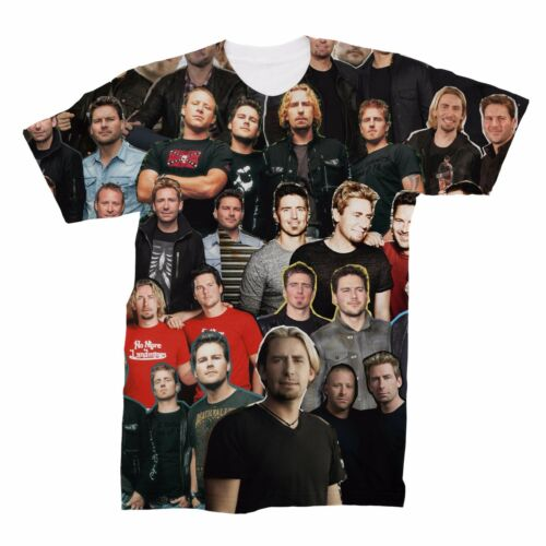 Nickelback Collage T-Shirt