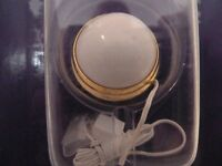 Dolls House Miniature 1:12th Scale Lighting Lounge Flush Ceiling Globe (de130)