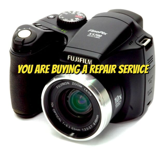 Fujifilm FinePix S Series S5700 7 1MP Digital Camera - Black