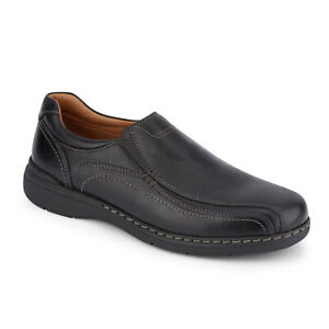 Dockers-Mens-Mosley-Genuine-Leather-Dress-Casual-Slip-on-Rubber-Sole-Shoe