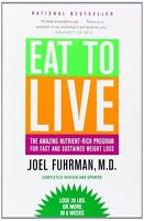 Eat To Live Amazing Nutrient-rich Program For Fast Weight Lossby Joel Fuhrman on Sale