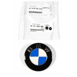 ORIGINAL-BMW-Emblem-Logo-Motorhaube-Heckklappe-82-mm-51148132375-Tuelle