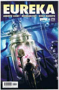 EUREKA-4-A-NM-TV-show-Sci-Fi-2008-Woodward-Cosby-Barreto-more-in-store