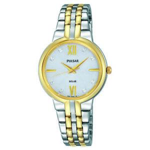 Pulsar-Women-039-s-Night-Solar-Two-Tone-Watch-with-Swarovski-Crystal-Accents-PY5024