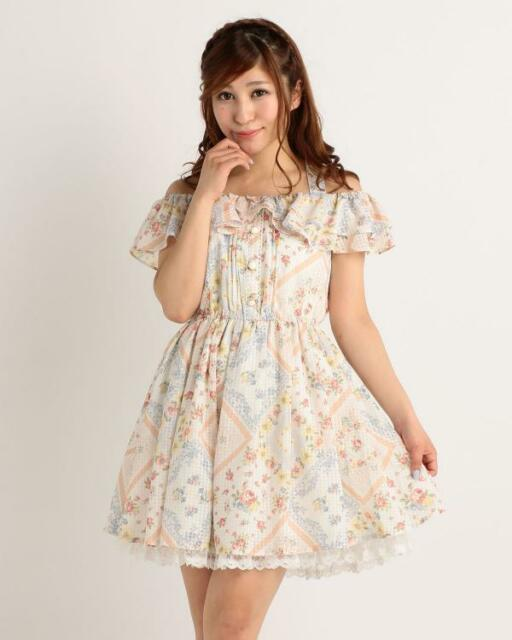 Genuine Liz Lisa handkerchief floral pattern dress Brand new with tag 2016 ss