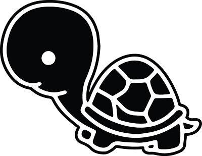 4 5 Inch Cute Baby Turtle Tortoise Decal Window Sticker Car Kids Pet Love Vinyl Ebay
