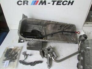 BMW-E36-M3-3-0-S50B30-Bomba-de-Aceite-con-pernos-de-Tubo-Colector-De-Aceite-Pan-Dip-Stick