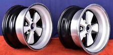Porsche 911 9 X 15 Fuchs Rsr Wheels 91136102003 7 73 Dates Genuine 9x15 Pair