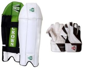 CW-Cricket-Combo-Wicket-Keeping-Legguard-Protector-With-W-K-Gloves-For-Men-039-s